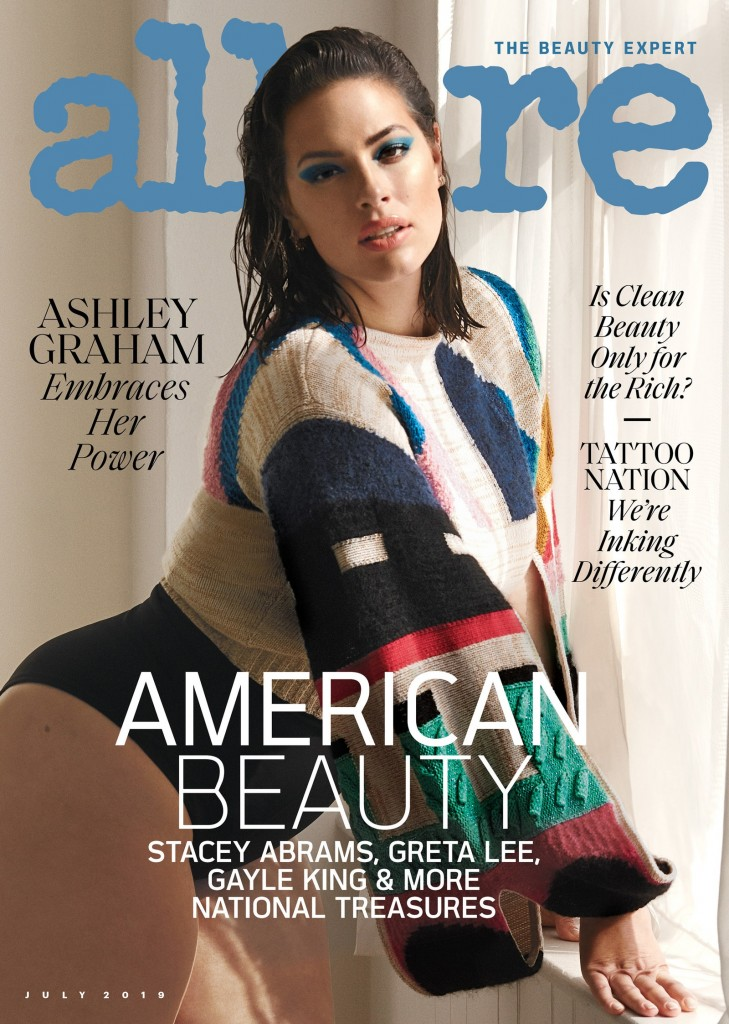 Allure Magazine, Ashley Graham Cover