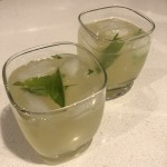Basil Pineapple Limeade Mocktail