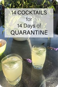 Rockitaerials Wellness Blog: 14 Cocktails for 14 Days of Quarantine